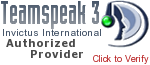 Authorized Teamspeak 3 Hosting