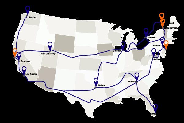 North American Locations